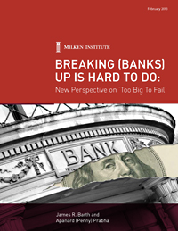 Breaking (Banks) Up Is Hard To Do <br />