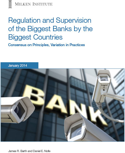 Regulation and Supervision of the Biggest Banks by the Biggest Countries<br />
