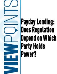 Payday Lending: Does Regulation Depend on Which Party Holds Power?