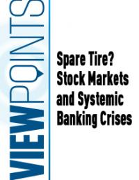 Spare Tire? Stock Markets and Systemic Banking Crises